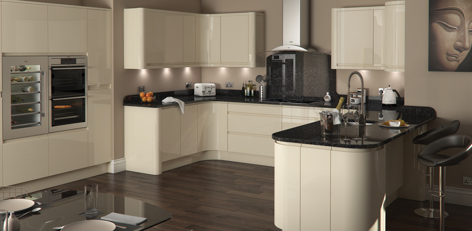 Mons gloss ultima furniture for Perfect kitchen pontefract