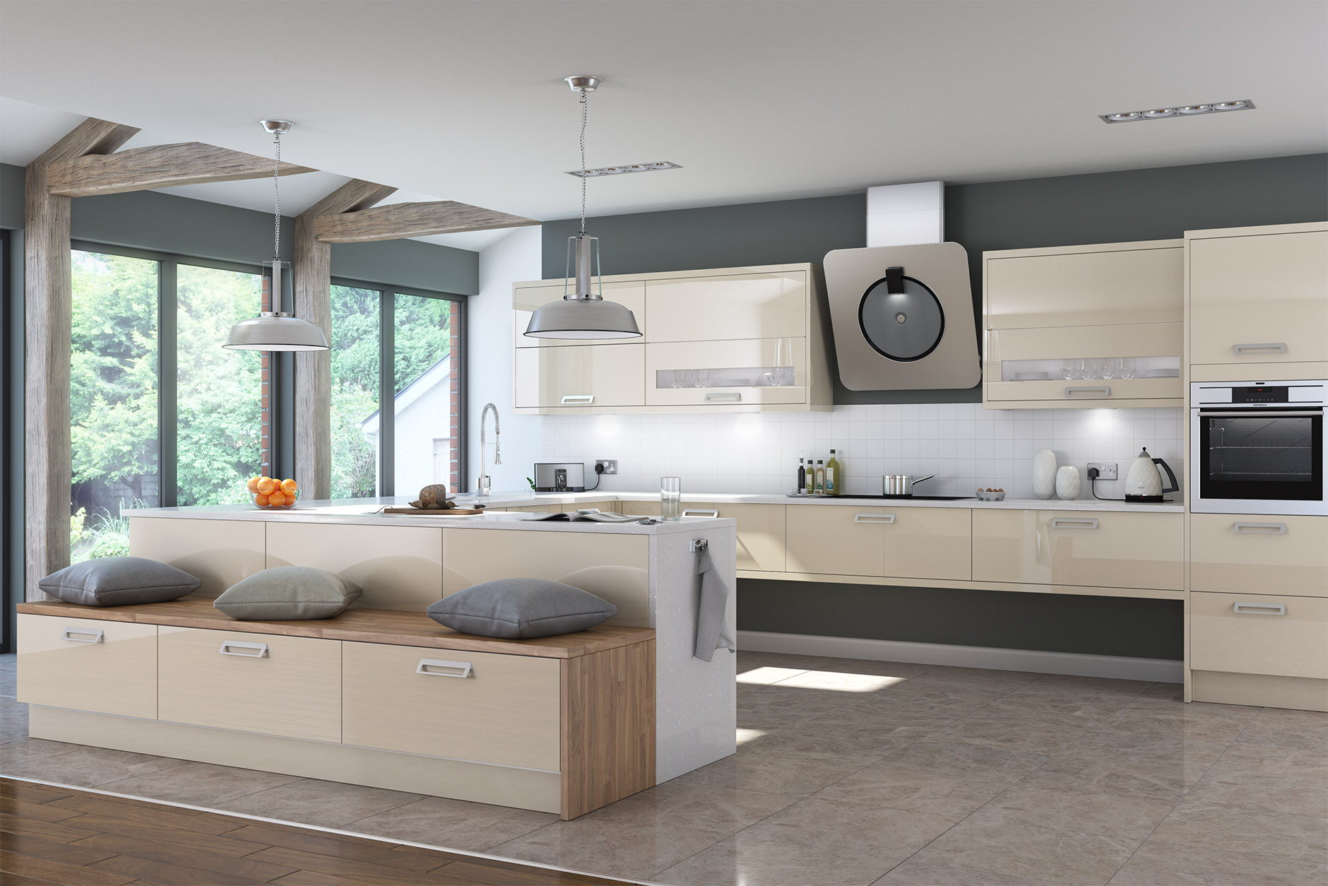Laval ultima furniture for Perfect kitchen pontefract